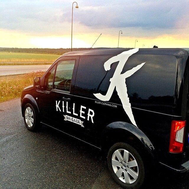the Killer-mobile!