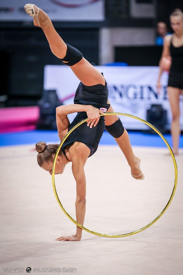 Aleksandra Soldatova (Russia), backstage Rhythmic Gymnastics World Championships 2015