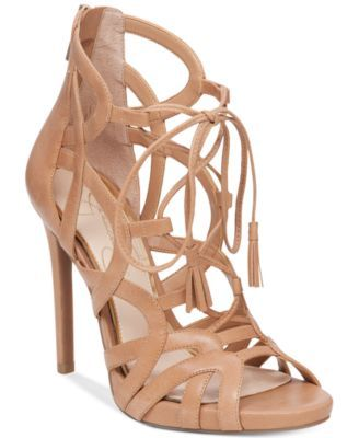 Jessica Simpson Racine Lace-Up High-Heel Gladiator Sandals