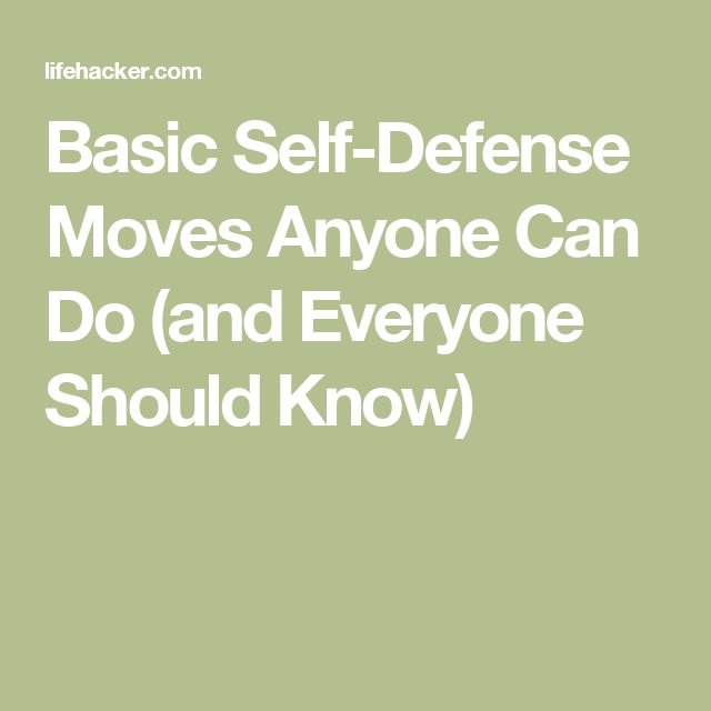 basic self defence techniques Get safety and self defense tips that will help elderly people and seniors from using your can to simply being prepare will help you better protect yourself.