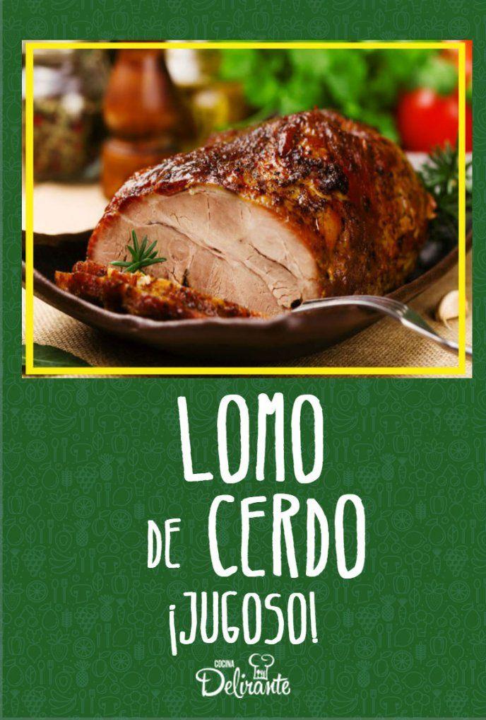 5 Tips Para Evitar Que El Lomo De Cerdo Quede Seco Lomo De Cerdo Lomo De Cerdo Al Horno Como Cocinar Lomo