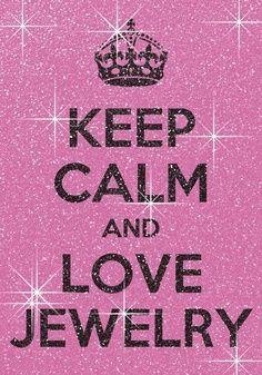 Keep calm and love #jewelry