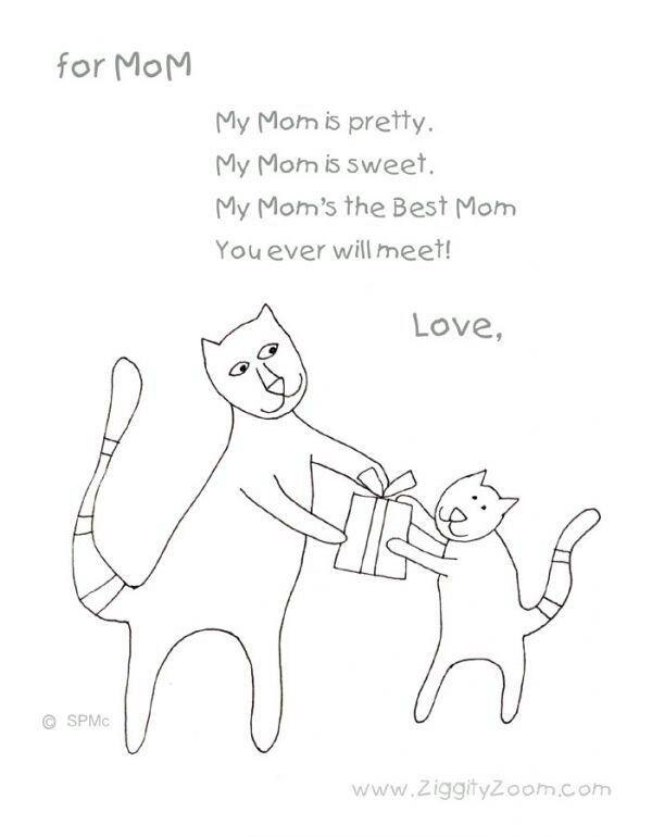 Muttertag Geschenk, Aktivitäten Für Kinder, Englisch, Schule, Basteln,  Vorschul Gedichte, Kurze Muttertagsgedichte, Kurze Gedichte Für Kinder, ...