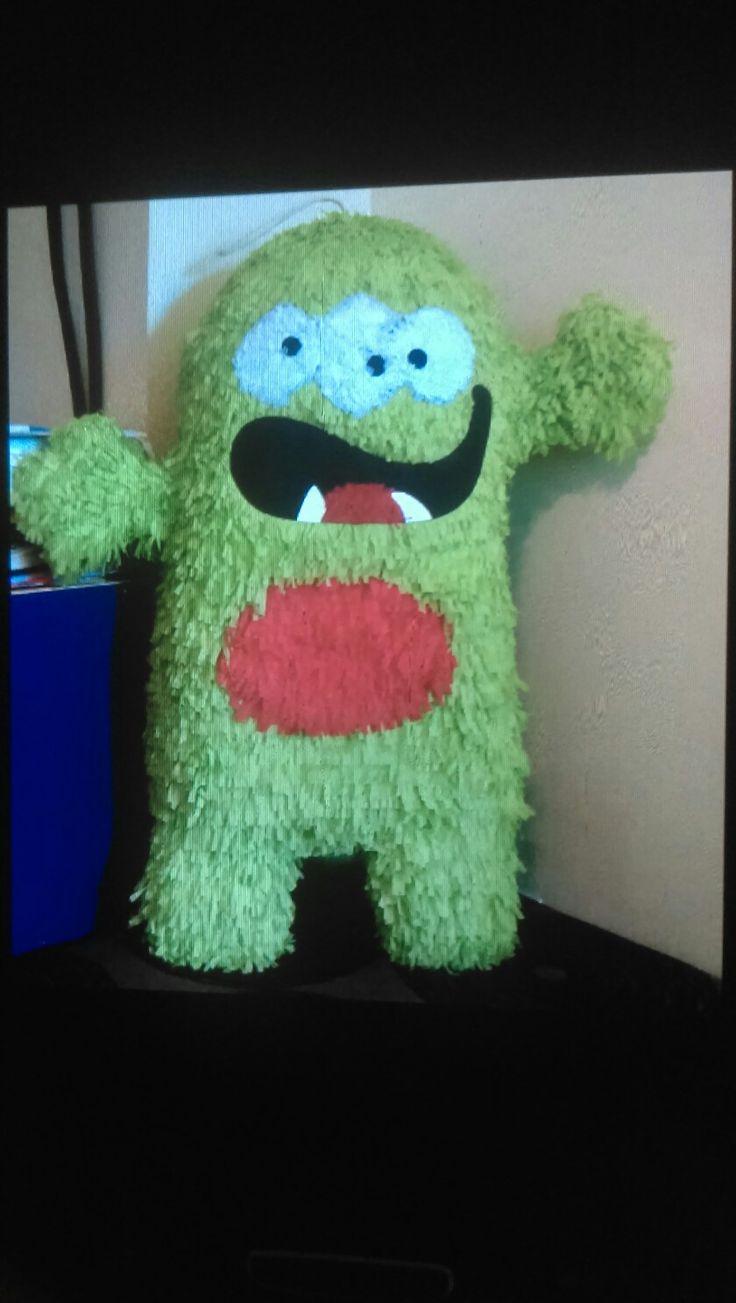 Piñata Monstruo verde