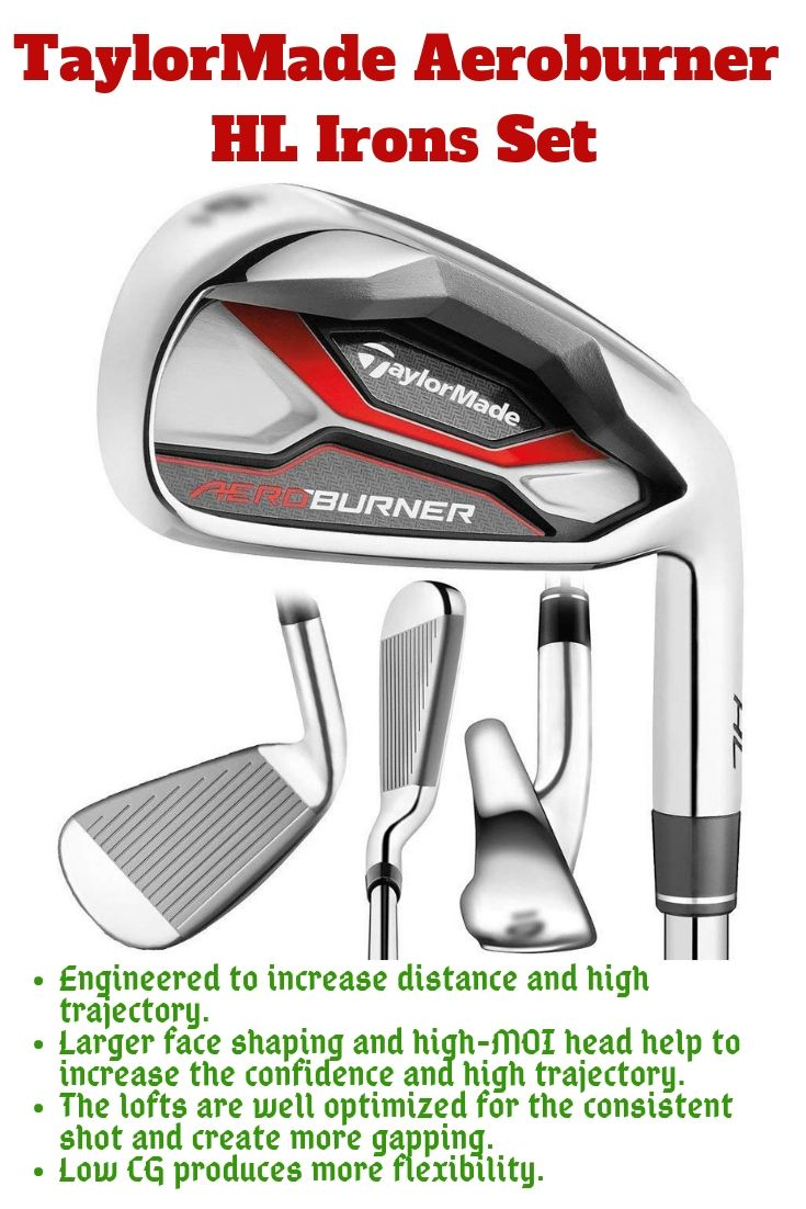 TaylorMade comes with another high-quality Golf Iron Set  TaylorMade
