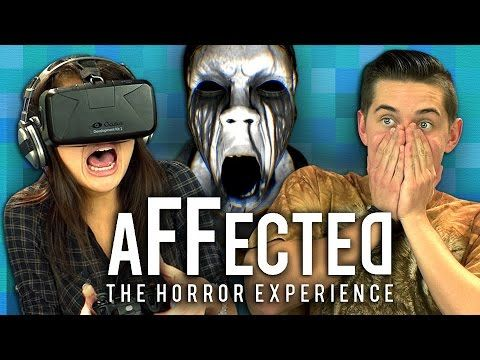 Oculus Rift Affected: The Manor - The Horror Experience (Teens React: Gaming) #horror #gaming #videogames #funny #oculusrift #tech #technology