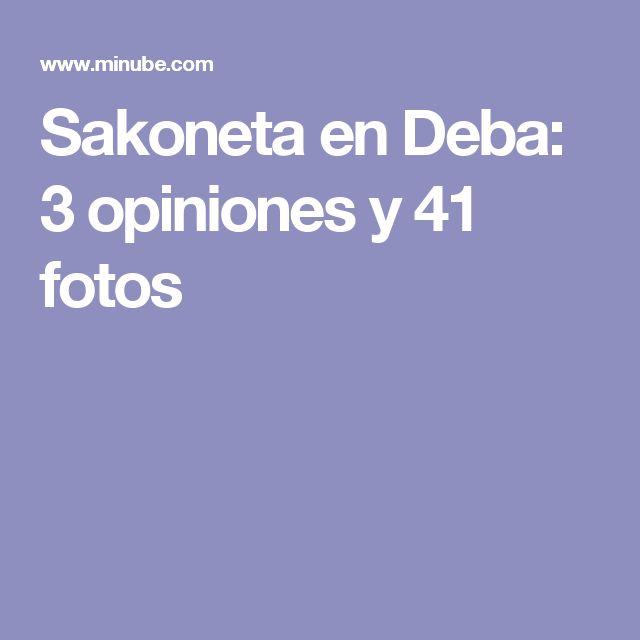 Sakoneta en Deba: 3 opiniones y 41 fotos
