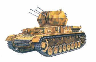 Flakpanzer IV Wirbelwind. Academy, 1/35, injection, No.13236. Price: 14,99 GBP.