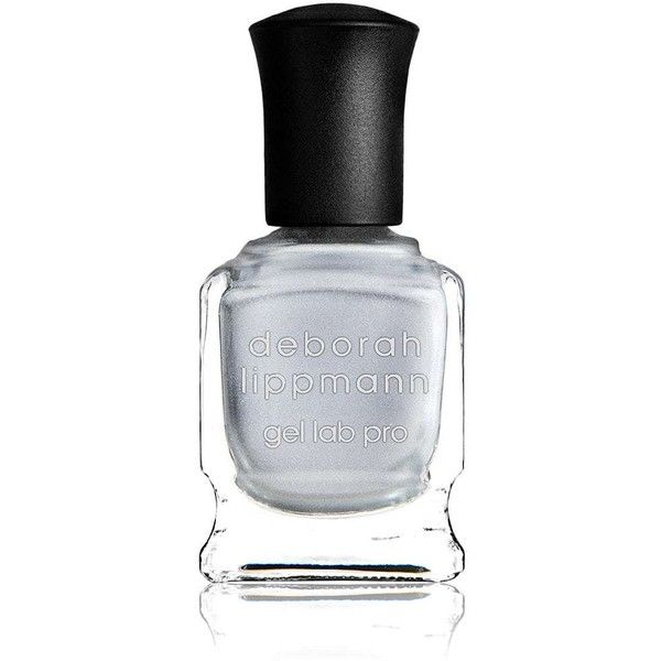 Deborah Lippmann Women's WOW Nail Polish (£15) ❤ liked on Polyvore featuring beauty products, nail care, nail polish, silver, deborah lippmann nail color, deborah lippmann nail lacquer, deborah lippmann nail polish and deborah lippmann