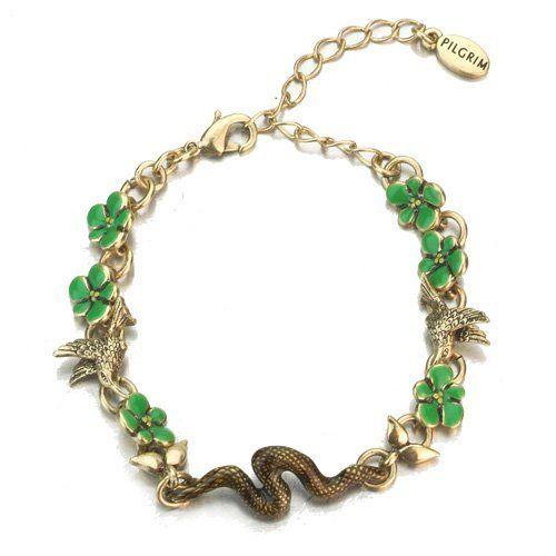 Pilgrim Urban Jungle Bracelet, 6.5 Inch With 2 Inch Extension Pilgrim. Save 46 Off!. $14.95