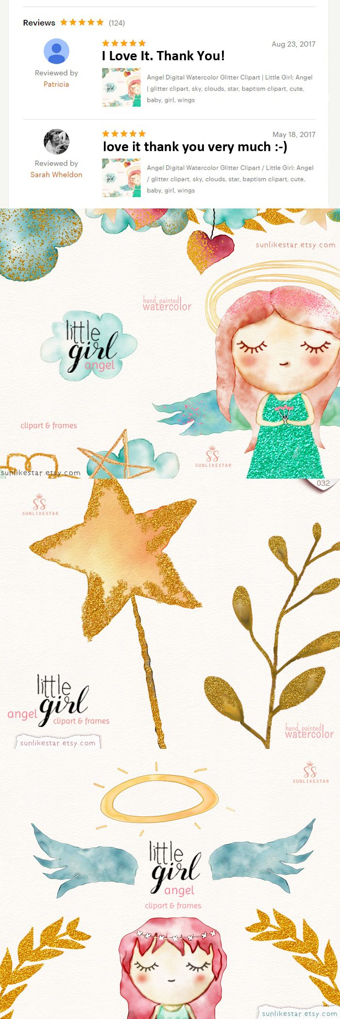 """Angel Digital Watercolor Glitter Clipart Little Girl: Angel, glitter clipart, sky, clouds, star, baptism clipart, cute, baby, girl, wings Little Girl: Angel ♡ cute baby girl clipart set Digital Watercolor Glitter Clipart ♡ cute watercolor girl clipart glitter watercolor  ∙∙∙∙∙∙∙∙∙∙∙∙∙∙∙∙∙∙∙∙∙∙∙∙∙∙∙∙∙∙∙∙∙∙∙∙∙∙∙∙∙∙∙∙∙∙∙∙ D E T A I L S ∙∙∙∙∙∙∙∙∙∙∙∙∙∙∙∙∙∙∙∙∙∙∙∙∙∙∙∙∙∙∙∙∙∙∙∙∙∙∙∙∙∙∙∙∙∙∙∙∙∙∙ • 30 transparent PNG -no background • 2 frames + 3 borders, JPEG & PNG • Size aprox: 10-3 """" • high resolution"""