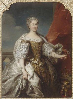JEAN BAPTISTE VAN LOO - 1727, Katarzyna Opalinska