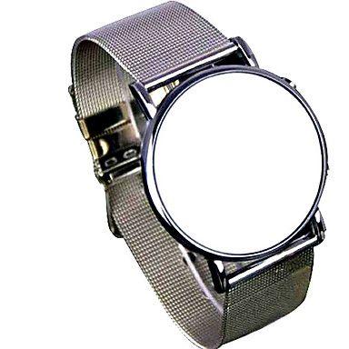 Fashion Men's Black Alloy Date Digital LED Watch Bracelet Sport Watches 5068899 2017 – $11.99