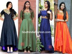 Designer Anarkalis by Anitha Reddy