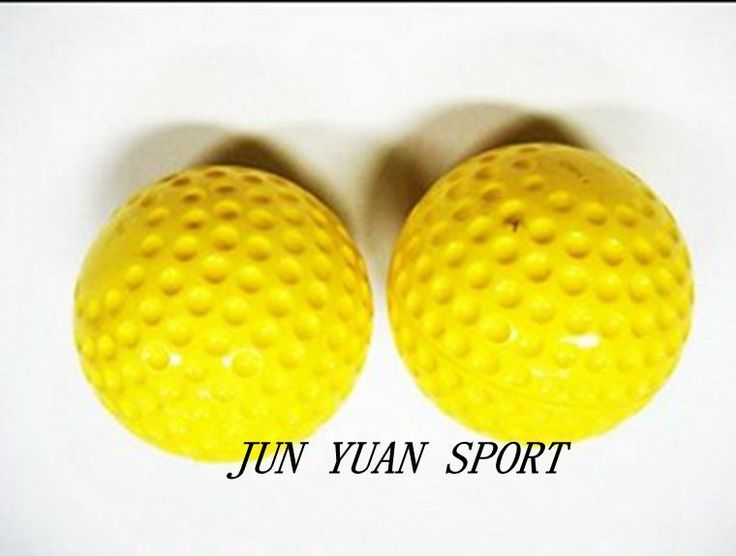 """צהוב 7.28 ס""""מ בעבודת יד PVC עליון גומי קשוח בייסבול סופטבול ספורט קבוצתי משחק לאימון כדור בסיס יד תפירה"""