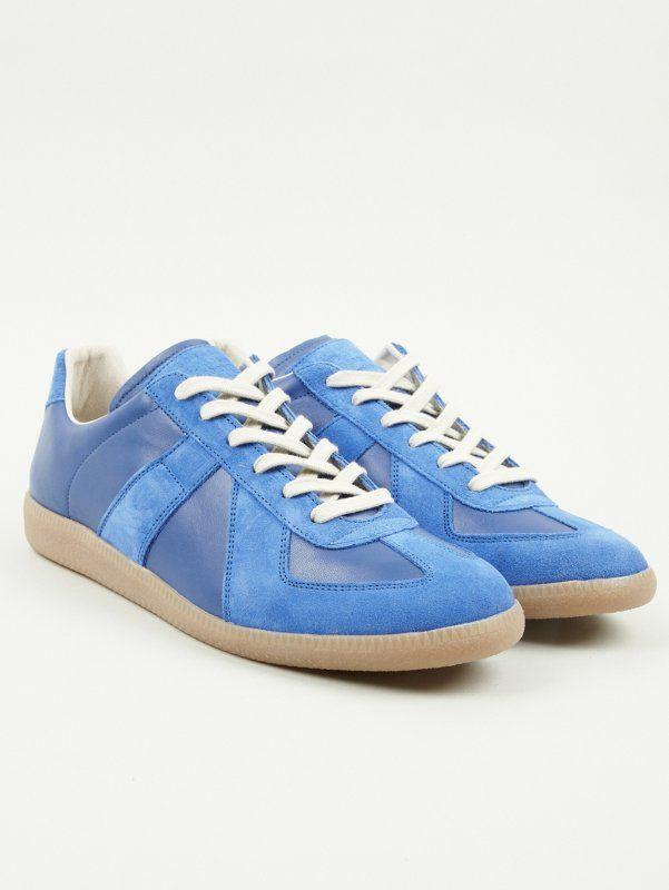 Replica mirror sneakers - Blue Maison Martin Margiela
