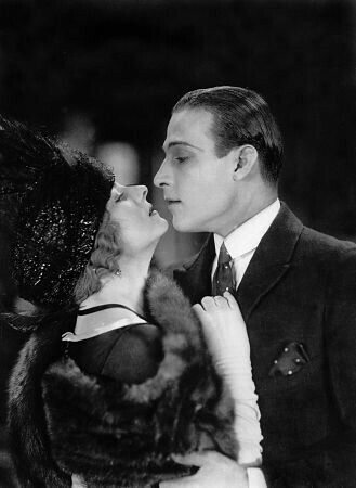Rudolph Valentino and Alice Terry in a scene from The Four Horsemen of the Apocalypse, 1921