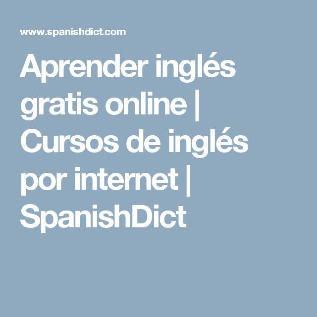 Aprender inglés gratis online | Cursos de inglés por internet | SpanishDict