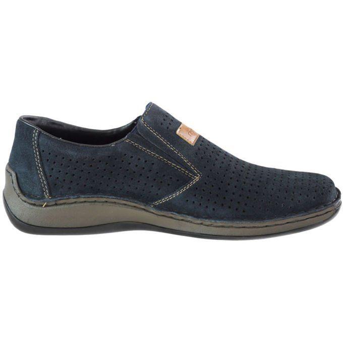 Polbuty Rieker 05265 14 Granatowe Buty Poznan Rieker Shoes Shoes Boots