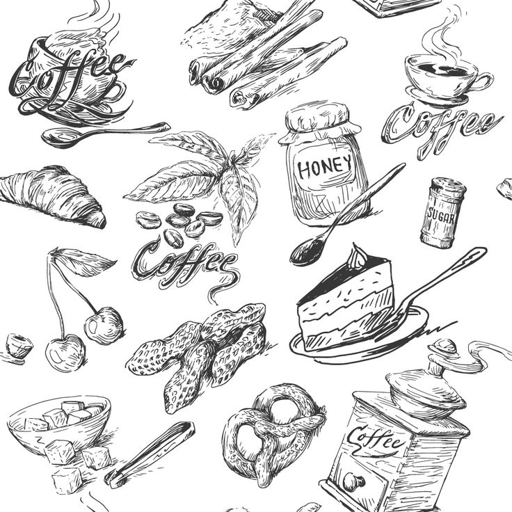 Kitchen Tools Drawings 19 best food illustration images on pinterest | food illustrations