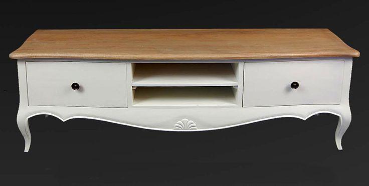 Mueble TV Vintage Frances   Material: Madera Tropical   Mueble realizado en Paris,Mueble,acabado,bicolor... Eur:431 / $573.23