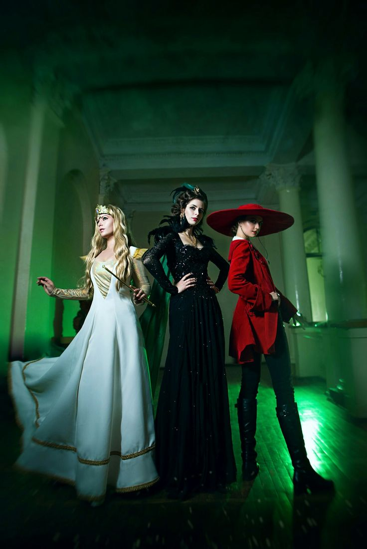 Fandom: Oz the Great and Powerful (2013)  Characters: Эванора, Теодора, Глинда  by Эриал, Джен, Кури P.S. больше фото по ссылке