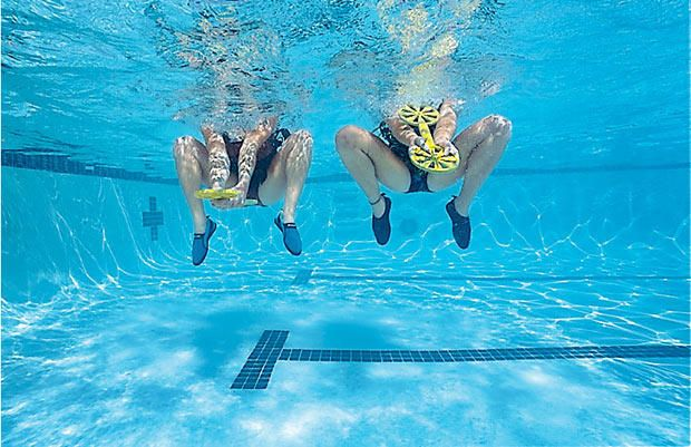 The 10 Minute Water Workout That Blasts Calories More Best The O 39 Jays Workout And Water
