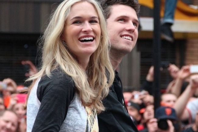 Buster Posey and his wife Kristen were high school sweethearts.