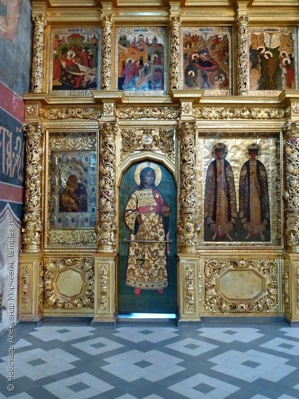 Собор Иконы Божией Матери Смоленская Новодевичьего монастыря.
