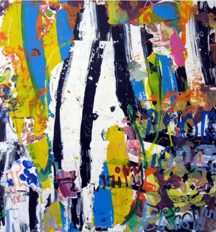 "Saatchi Art Artist: robert tavani; Acrylic 2012 Painting ""Waterworks"""