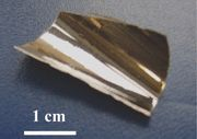 Ultrastable Metallic Glass created by vapour deposition at an appropriately high substrate temperature, shows exceptional thermal stability, and enhanced glass transition temperature and elastic modulus.   Read more: http://materialsscienceengineeringdefined.blogspot.com/2013/08/ultrastable-metallic-glass-yu-2013.html Attribution Share Alike