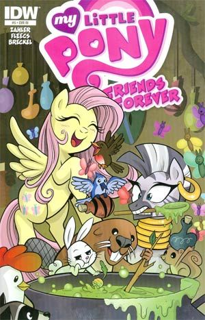 My Little Pony Friends Forever #5 Cover C Incentive Brenda Hickey Variant Cover