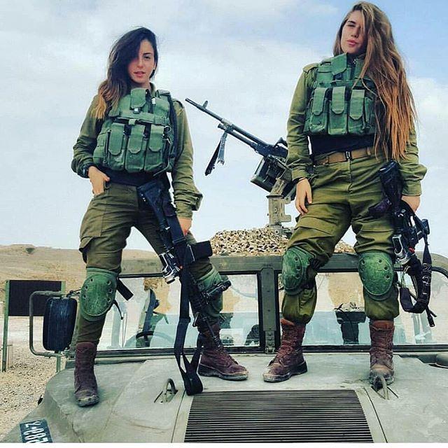 Israeli Army Girls  Idfs Female Soldiers 29  Military -5957
