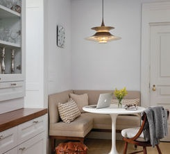 Small dining space.
