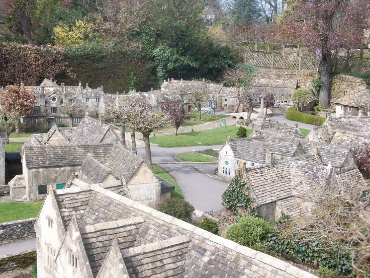 the model village in Bourton-on-the-Water
