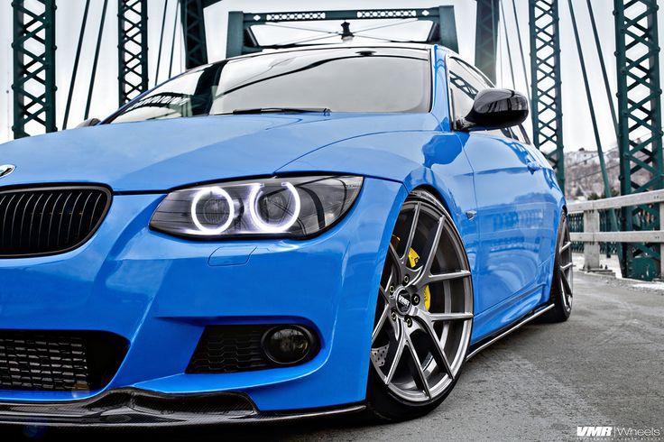 Stunning Santorini Blue BMW E92 M3 Photoshoot - http://www.bmwblog.com/2015/01/21/stunning-santorini-blue-bmw-e92-m3-photoshoot/