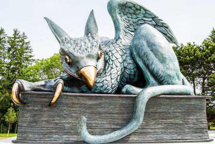 The Gryphon Statue