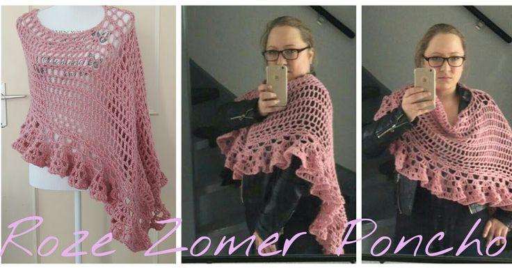 M. Sem: Roze Zomer Poncho