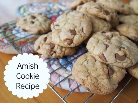 A delicious and easy recipe for Amish cookies.  Once you've had one you won't be able to stop :)