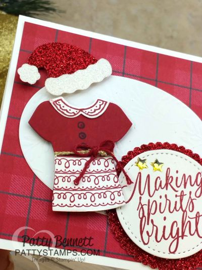 Custom Tee Christmas card - Occasions catalog sneak peek! | Patty's Stamping Spot | Bloglovin'