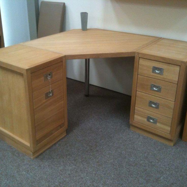 Wooden Corner Desks - Space Saving Desk Ideas Check more at http://www.gameintown.com/wooden-corner-desks/