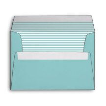 Morning Glory Blue Striped Envelopes