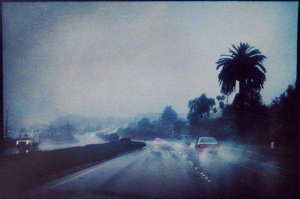 """Bernard Plossu     """"Californie, États-Unis, 1978""""     Tirage Fresson  18,5 x 27,5 cm"""