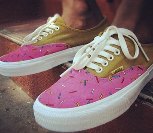 Odd future donut shoes ️ | vans | Pinterest | Odd future ...