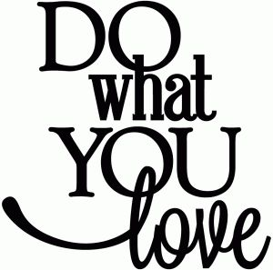 Silhouette Online Store: do what you love - vinyl phrase