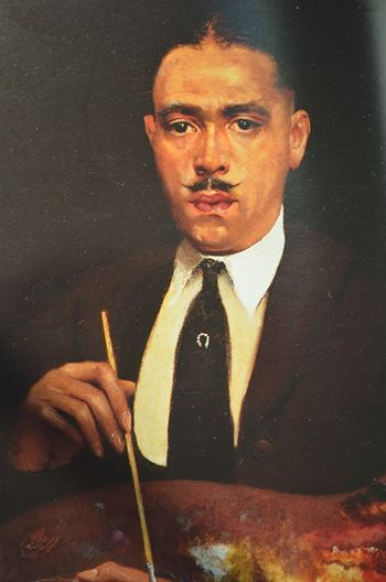 Archibald Motley, Jr., Harlem Renaissance artist, was born in New Orleans, Louisiana in 1891. His family moved to Chicago and they settled in the Englewood neighborhood on the city's Southside. He attended Englewood High School and played on the football team. After graduating from high school in 1914, Motley attended Chicago's Art Institute. By 1925, his artistic works enjoyed a national reputation.
