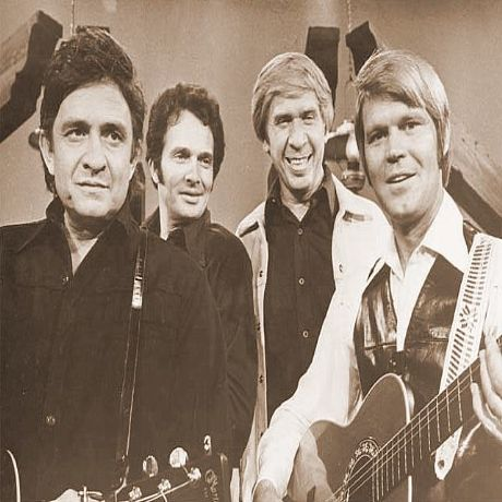 Buck Owens Family   Johnny Cash, Merle Haggard, Buck Owens, Glen Campbell