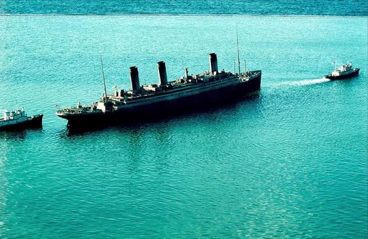 Raising the Titanic From the Ocean Floor   Raise the Titanic 1980   modelshipsinthecinema.com