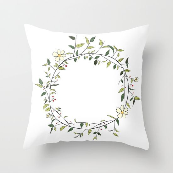 Buy Flowers I by MAJA as a high quality Throw Pillow. Worldwide shipping available at Society6.com. Just one of millions of products available.