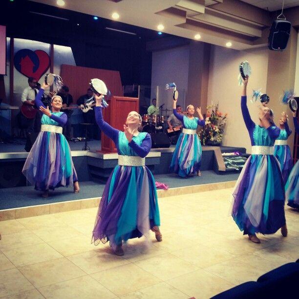 """""""Adorale con Gozo"""" ministerio de danza """"Princesas del Rey"""" Iglesia de Cristo Casa para Dios, Minst. Asoc. Elim, Manatí, P.R."""